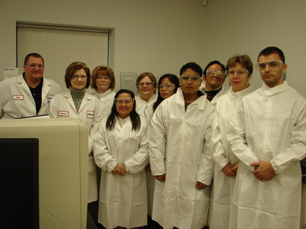 IURS-4 attendees Touring Alkermes